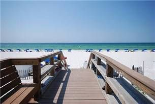 You are just a few steps from Paradise  - Boardwalk from the Island Princess to the beach.