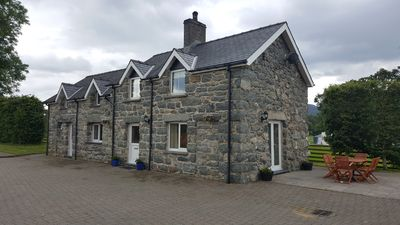 Photo for Stone built Cottage within a few yards of Bala Lake