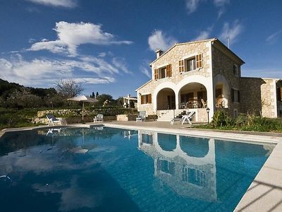 Photo for Vacation home Pla de Ses Rotes  in Campanet, Mallorca - 10 persons, 5 bedrooms