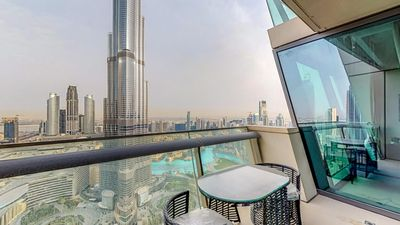 Photo for Immaculate 3 Bedroom Apartment with Burj Khalifa View