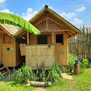Photo for New Bamboo Chalets. Private rooms at hostel prices. Close to beach and town.