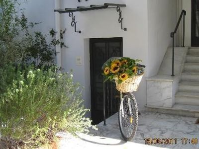Photo for In Nice charming 2 rooms with large terrace in an Art Deco villa