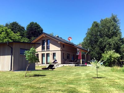 Photo for Luxurious solid-wood house with pool and sauna for 4 people in Allgäu
