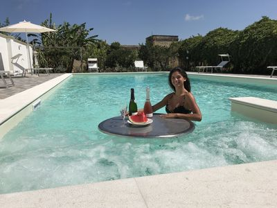Photo for Villa with swimming pool live Marsala