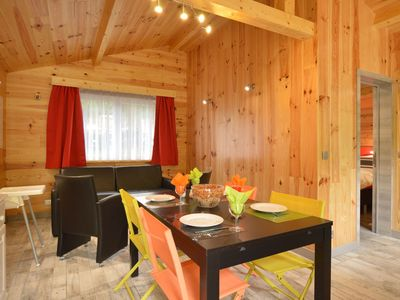 Photo for A chalet for re-energising in peace, not far from Durbuy. All fees included!