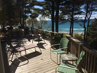 Photo for 3BR Cottage Vacation Rental in New Era, Michigan
