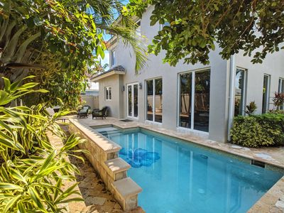 Photo for Spectacular Updated Home only steps from the beach, nightlife, and dining