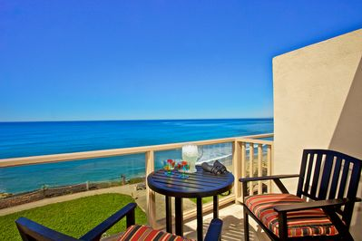 Views of the Pacific Ocean from Living Areas and Front Patio