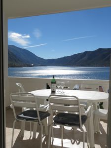Photo for Amazing views over Bay of Kotor from Freya's Apartment