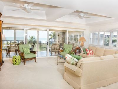 Photo for 3 Bedroom, Beachfront Condo - Beachcomber C302