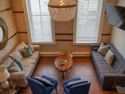 Photo for Glitterati - 5 Bedroom/4 Bath Historic Building - Incredible on King St Location!