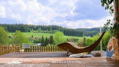Photo for Entire House in Schwarzwald with mountain view, private Gym,Sauna,Garden.