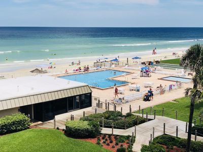 Photo for PARADISE FOUND! Gorgeous oceanside condo in family friendly beach town!