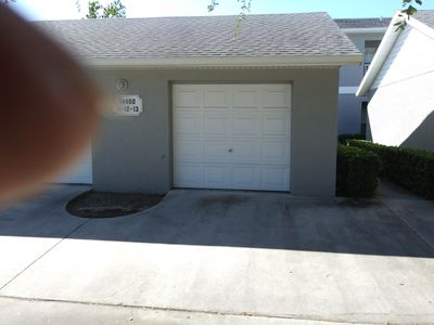 Photo for 2 bedroom 2 bath condo with one car garage in Seminole Fl. 33776 Indian Rocks