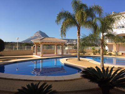 Photo for Luxury Ground Floor apartment with a large Terrace, minutes walk from the Arenal