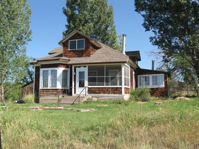 Charming historic house with beautiful views halfway between Moab and Telluride
