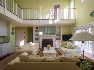 Photo for Beautiful Spacious Sandy Feet Retreat Home w/ Charming Guest House in Edgartown