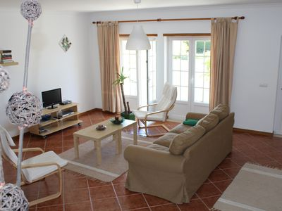 Photo for Villa Oasis - large sunny townhouse with swimming pool, 5-minute walk to beach