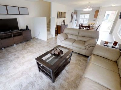 Photo for Modern Bargains - Compass Bay - Welcome To Relaxing 3 Beds 2 Baths Townhome - 3 Miles To Disney
