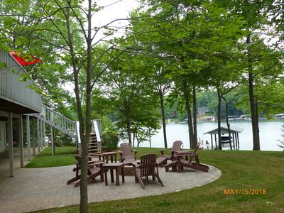 Photo for Point waterfront home with a gradual slope located in Mariners Landing