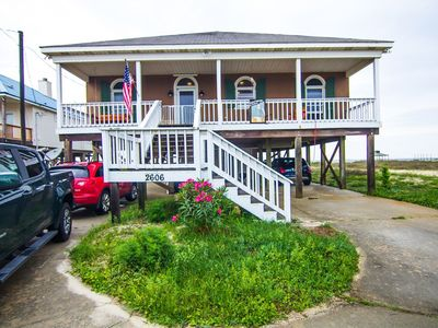 Photo for Pet Friendly, Waterfront Beach House On Dauphin Island, Alabama's Sunset Capital