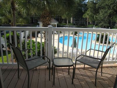Photo for 1 Bedroom St Simons Condo- Spectacular View of Pool! Near Ocean/Pier