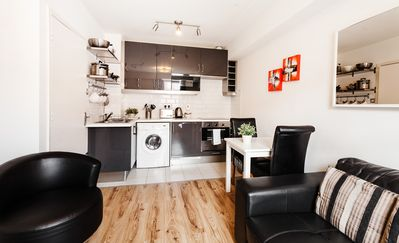 Photo for City Centre Spacious 1 Bedroom Apartment in the Heart of Dublin - sleeps 4