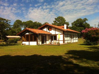 Photo for Landes renovated house in a very beautiful area, near golf and beaches
