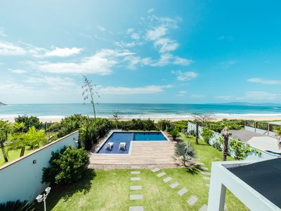 Photo for Mansion Sea Front Foot in the Sand with Pool in Balneario Camboriu