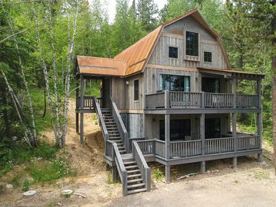 Photo for Double Deck with Views and Hot Tub 4BR Access to Heated Pool and Pool Table!