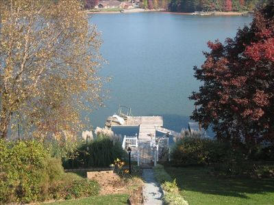 Photo for Best Value - Private Château with Huge Open Lake Norman Views