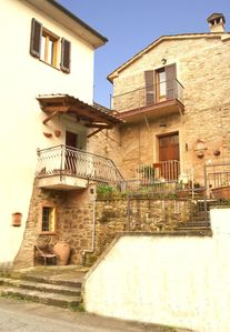 Photo for house in the historic village in the Tuscan hills