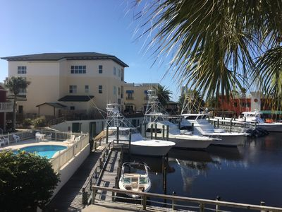 Photo for Bay front  2nd floor condo in walking distance to San Roc Cay.