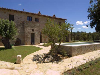 Photo for PRIVATE TUSCAN VILLA WITH SWIMMING POOL HEATED