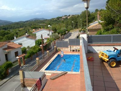 Photo for Large house with private pool and beautiful views of Montserrat
