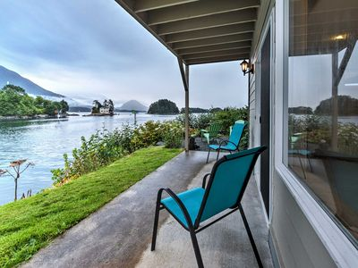Photo for Waterfront Sitka Townhome w/Views - Close to Town!