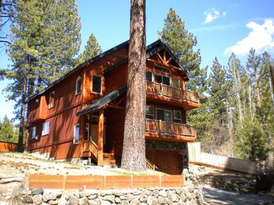 Photo for Black Bart - Upscale Tahoe Cabin that's Roomy Enough for the Whole Group!