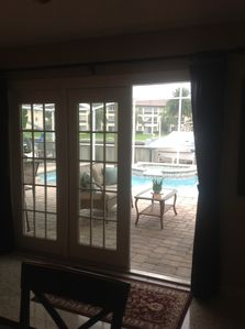 Photo for Home,Gulfharbors heated pool/spa,fish,2beds2 bth,wi/fi sleeps 4. Walk to store