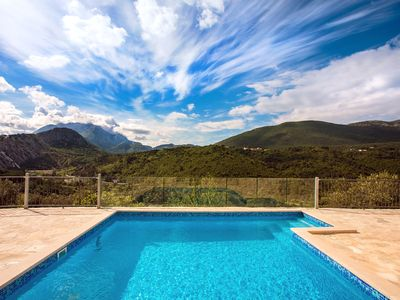 Photo for Villa Eagle's Dream, suitable for 8 people, private pool, breathtaking views