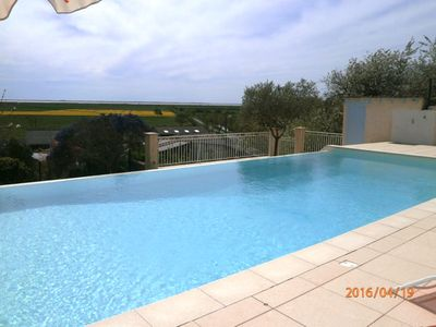 Photo for Charming house with pool and beautiful panoramic view of the estuary