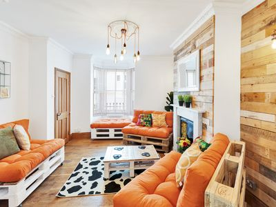 Photo for Kemptown's BIG House - Sleeps 4 to 16 guests - 4 bedrooms, roof terrace, high speed wifi