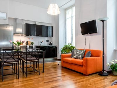 Photo for Via Porta apartment in Como with WiFi, air conditioning & lift.