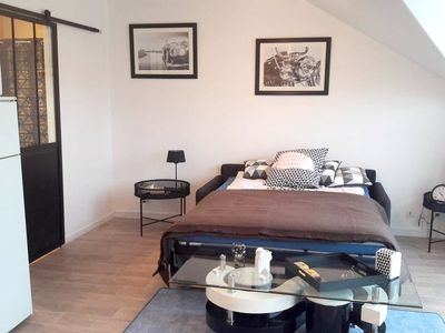 Photo for Homerez last minute deal - Beautiful studio in Compiègne