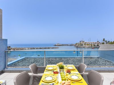 Photo for Beach front Aparment. in Mogan MB