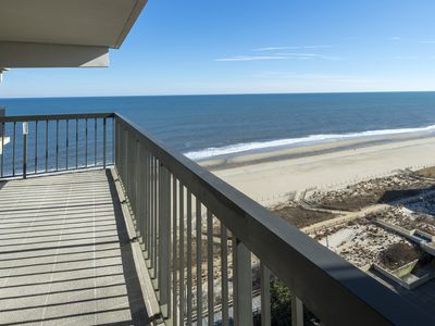Photo for Sea Watch 1314 is a gorgeous newly remodeled Ocean Front Condo in famous Ocean C