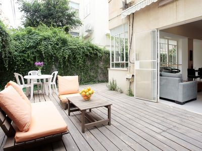 Photo for 3 ROOMS APARTMENT WITH GARDEN IN ISRAEL'S ST 13