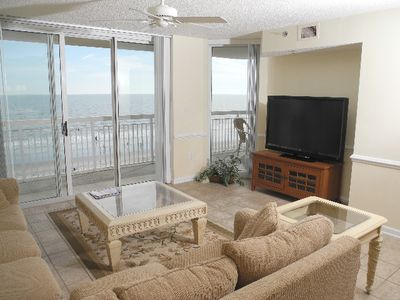 Photo for Crescent Shores Oceanfront Unit 404! Stunning Condo. Book your get away today!