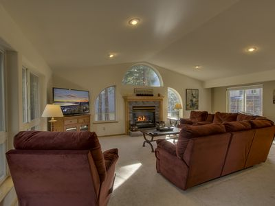 Photo for Nestled Pines Retreat (5BR) with Hot Tub, Full Kitchen, BBQ Deck
