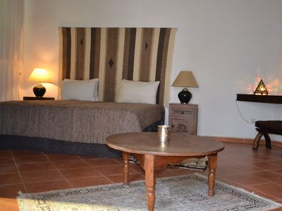 Photo for Comfortable riad, near train station and airport and beaches