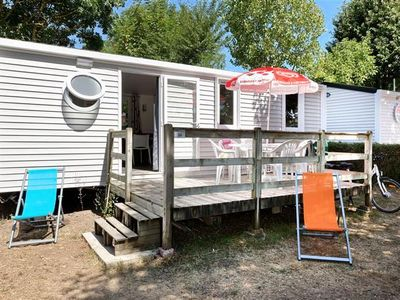 Photo for Camping L'Abri-côte *** - Mobil home Family 4 rooms 6 persons
